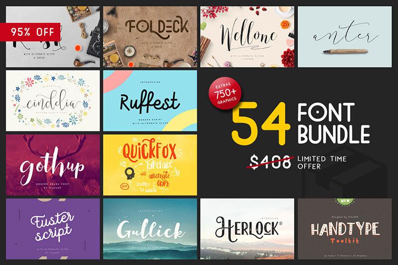 New Font & Graphic Bundle