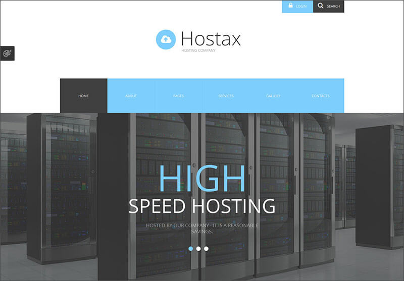 New Hosting Joomla Template