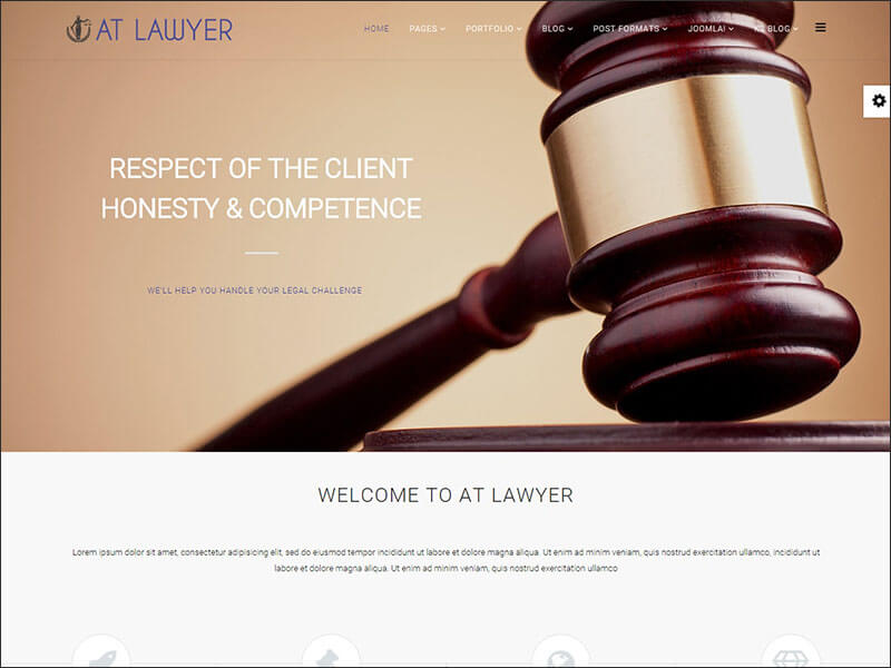 New Lawyer Joomla Template