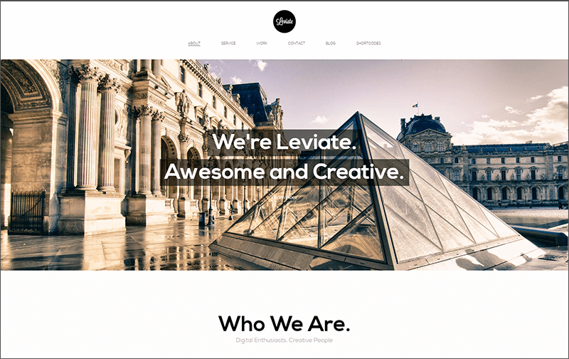 New Multipurpose HTML5 WordPress Theme