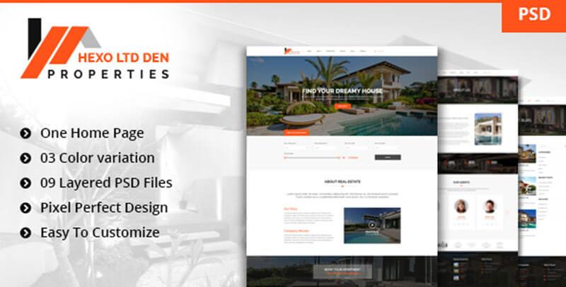 New Properties - PSD Template