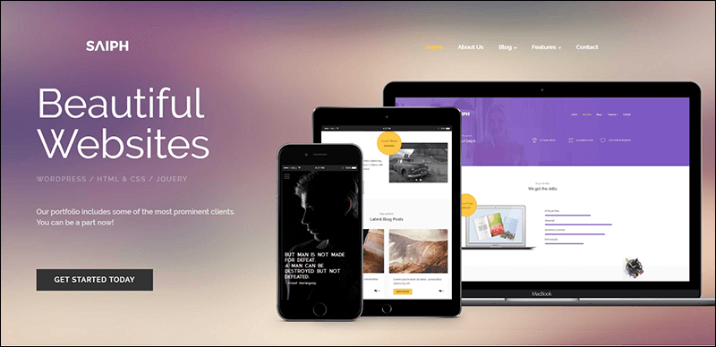 New Responsive HTML Template
