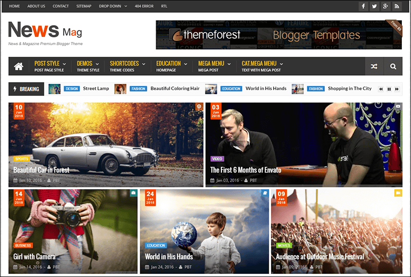 News Mag - Responsive Magazine Blogger Template - Copy