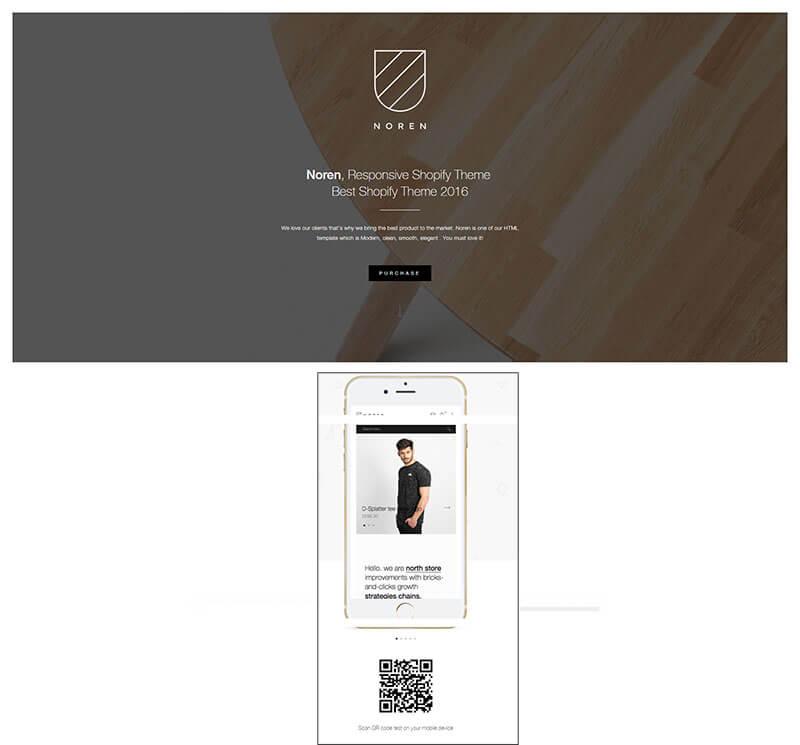 Noren - Responsive Shopify Theme