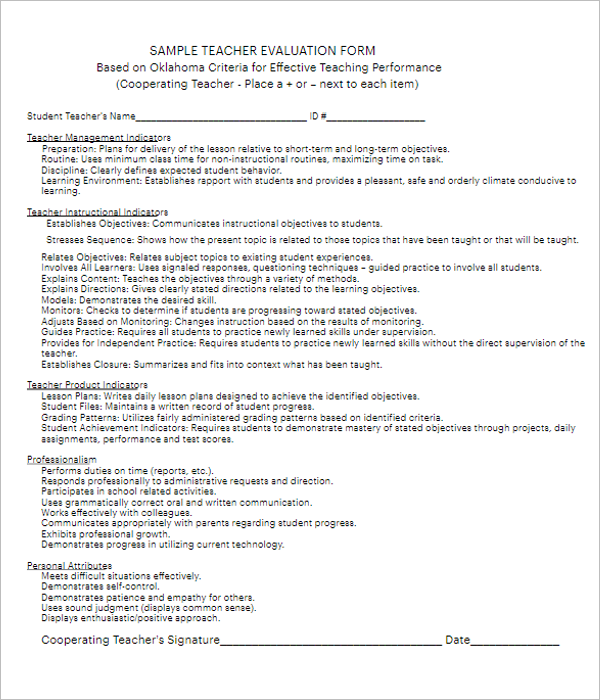 Office Employee Performance Review Template