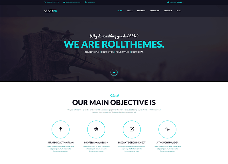 Orches - Corporate Business Joomla Template
