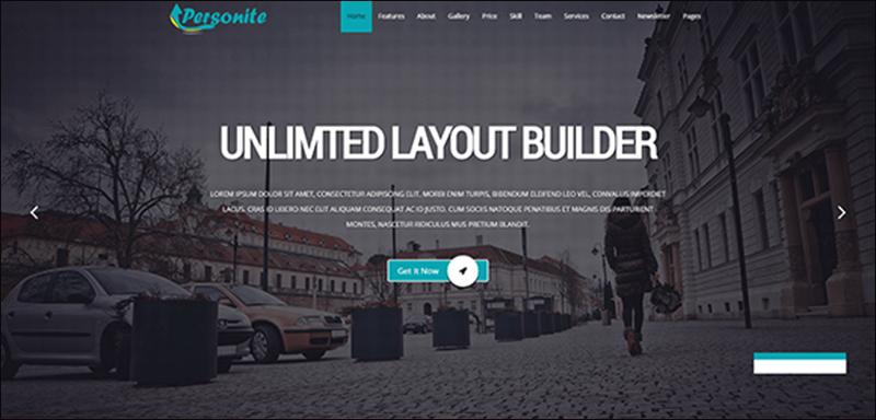 Personite OnePage Joomla Template