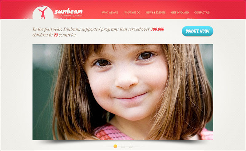Pink Charity Drupal Template