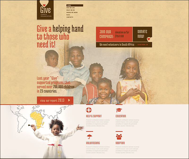 Power of Hope Community WordPress Theme