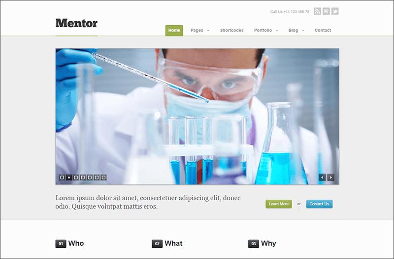 Premium Responsive HTML5 WordPress Theme