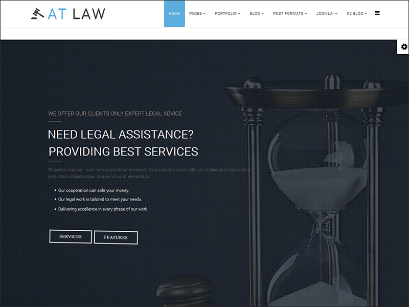 Law Joomla Templates