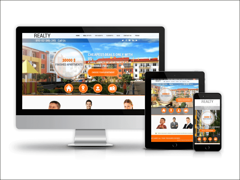 Realty - Drupal Real Estate Theme