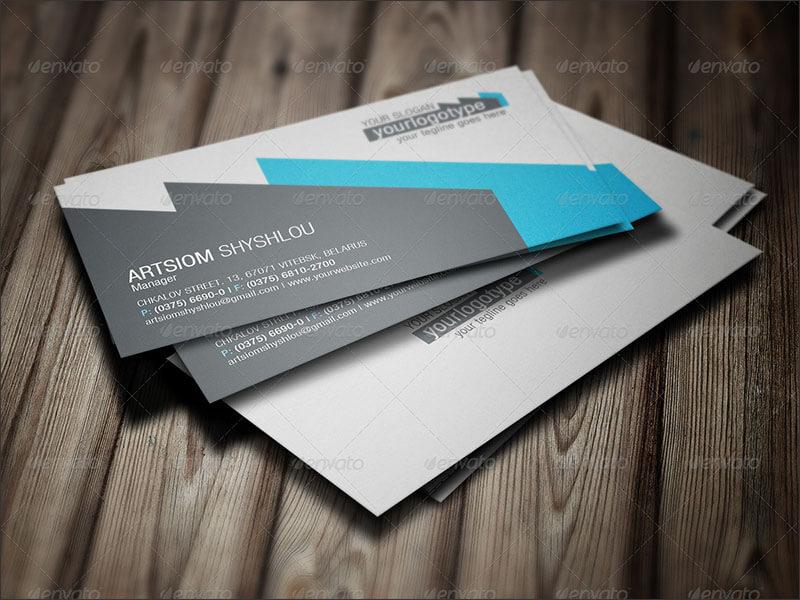 Responsive Logistics Plane Business Card