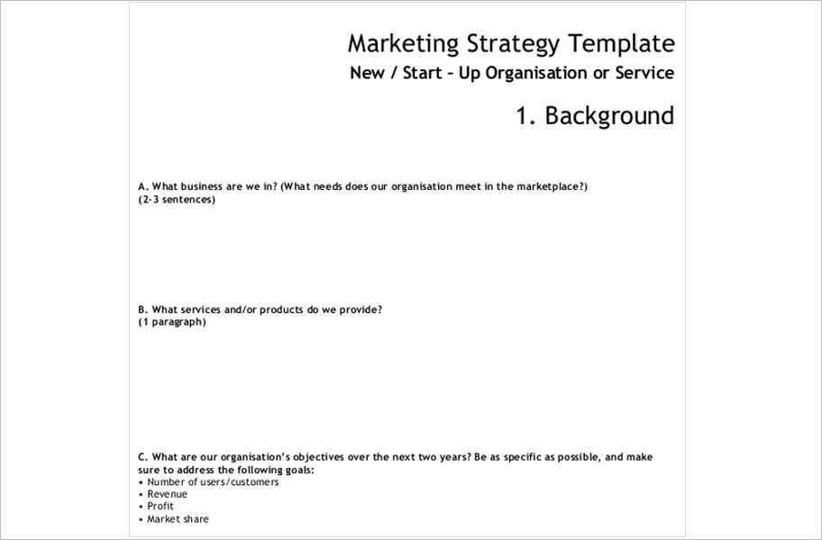 responsive-marketing-strategy-templates