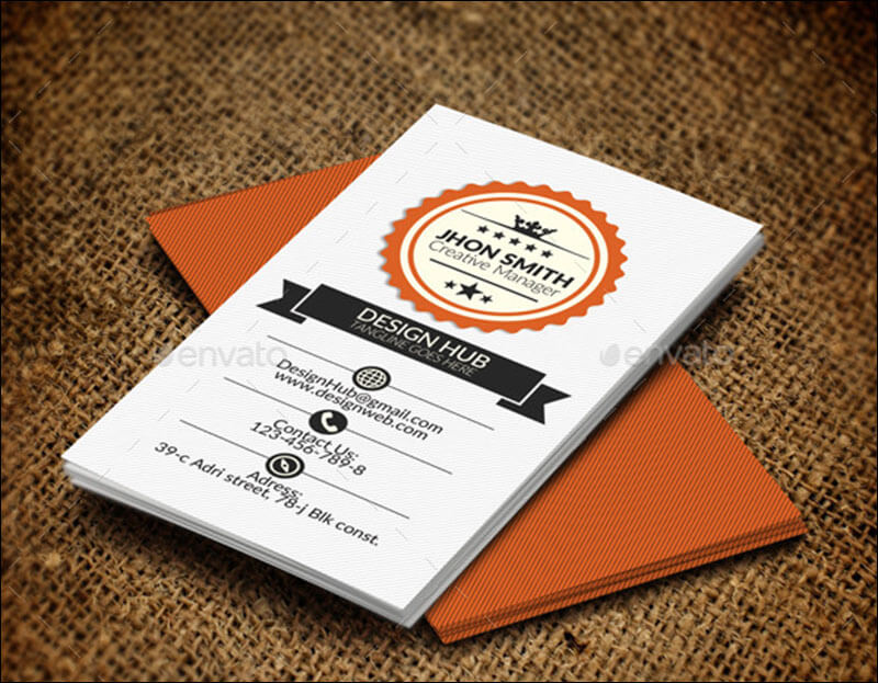21 education business card templates free psd vector designs retro vintage business card cheaphphosting Choice Image