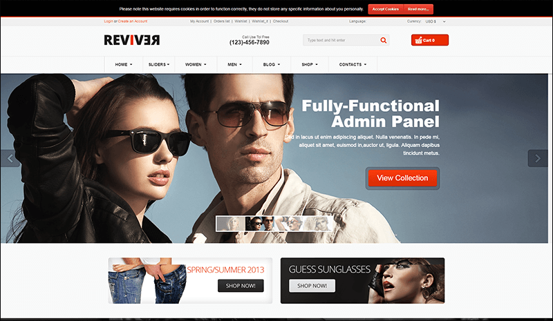 Reviver - Responsive Multipurpose VirtueMart Theme - Copy