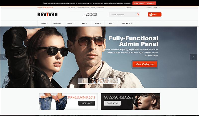 Reviver - Responsive Multipurpose VirtueMart Theme - Copy