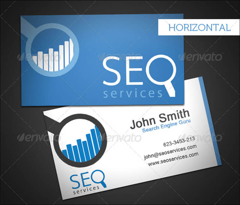 14+ IT Services Business Card Templates Free Printable Card ...