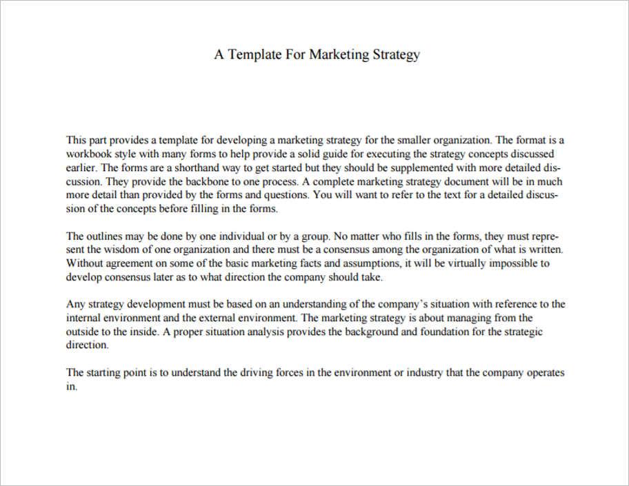 sample-marketing-strategy-templates