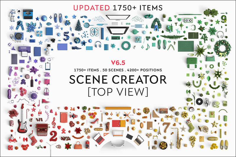 Scene creator - Top view