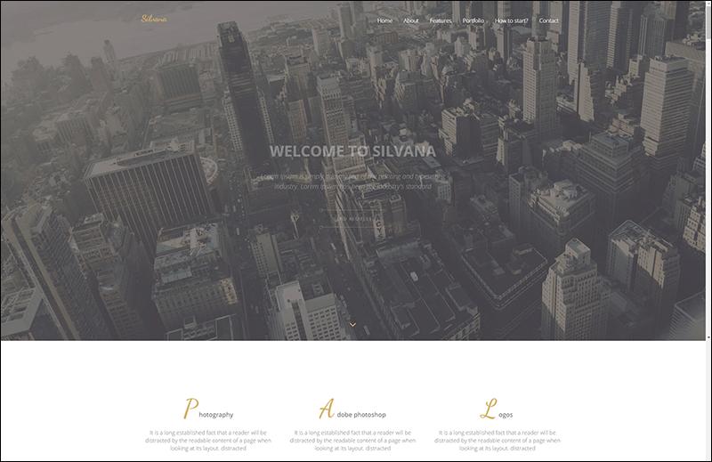 Silvana - Agency Landing Page Joomla Template