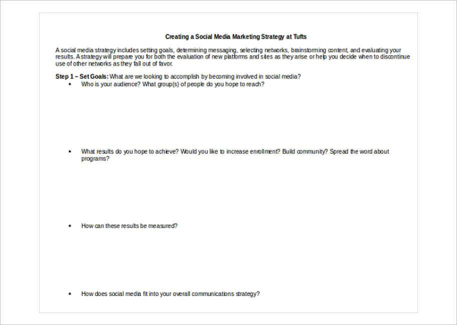 social-media-marketing-strategy-template
