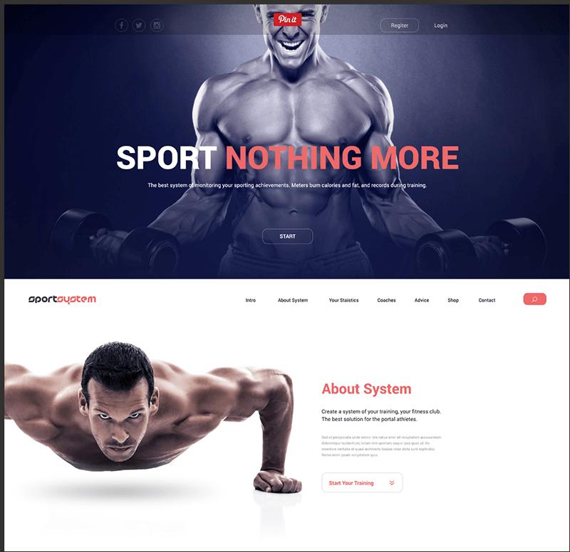 SportSystem-Excellent Template