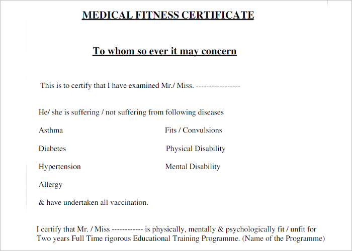 Medical Certificate Template Free Word PDF Documents - College diploma template pdf