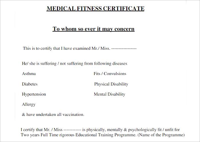 Standard Certificate Template PDF