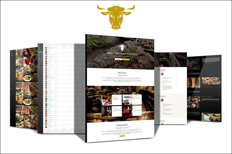 Taurus - Restaurant Responsive Theme