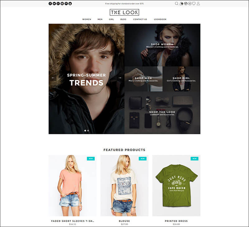 The Look - Clean, Responsive Prestashop Theme