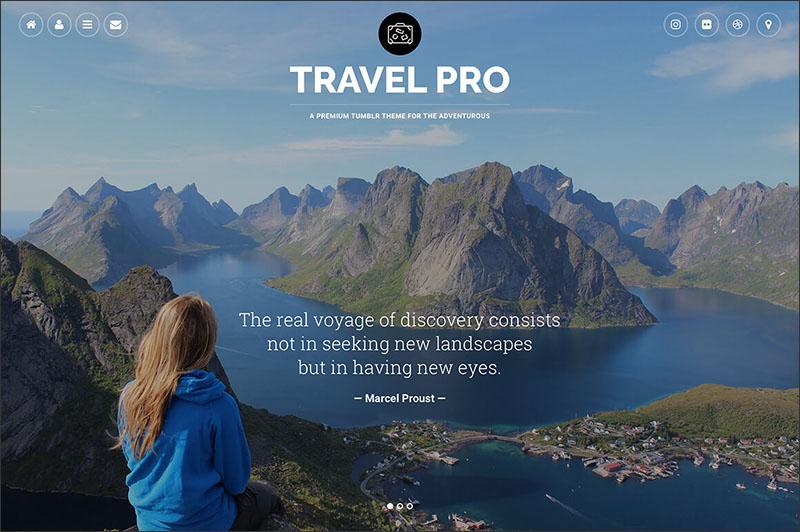 Travel Pro Tumblr Theme
