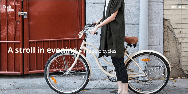 Treb WordPress blog theme