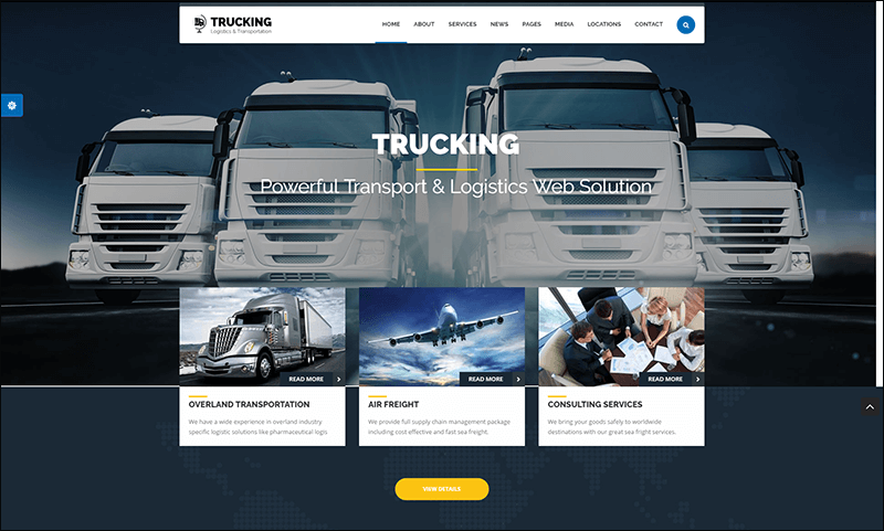 rucking - Transportation & Commerce Drupal Theme