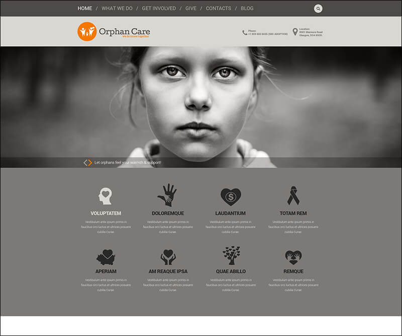 Uniting Families WordPress Theme
