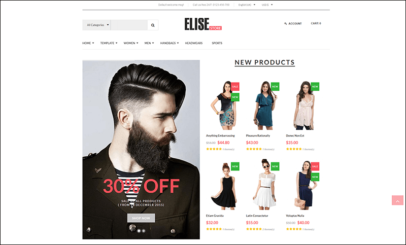 Vina Elise - Advanced Fashion VirtueMart Template - Copy