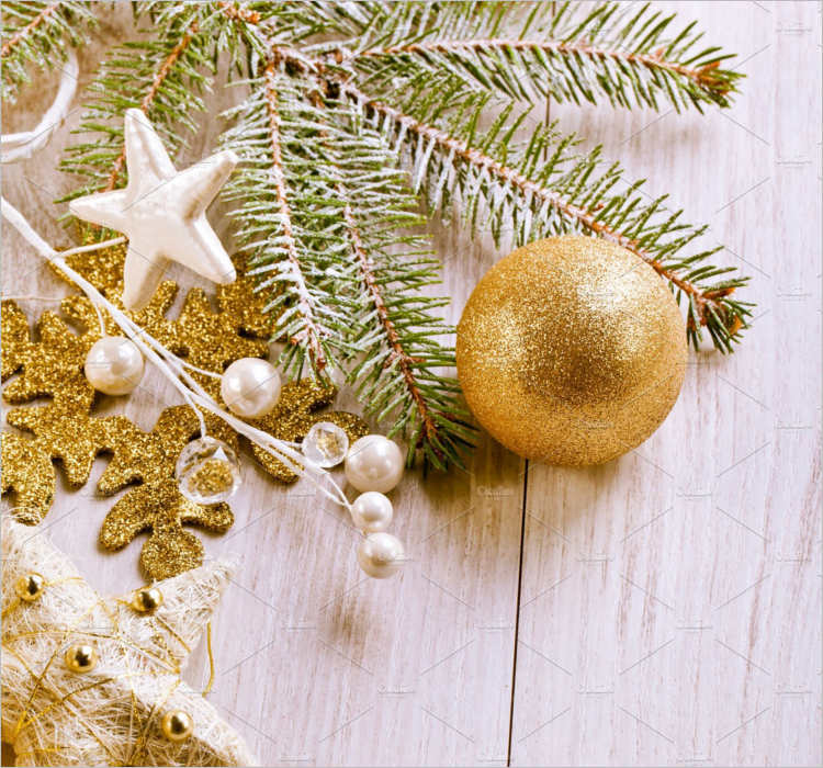 Vintage Christmas Decoration Templates