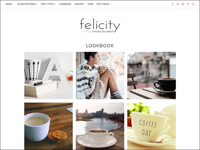 WordPress Theme Responsive-Felicity