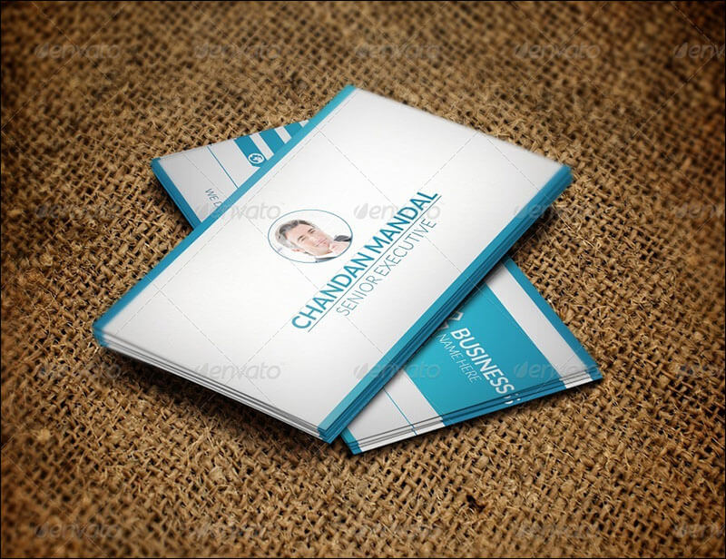Zix Corporate Business Card Template
