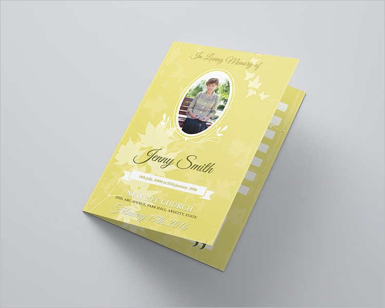blossom-funeral-brochure-templates