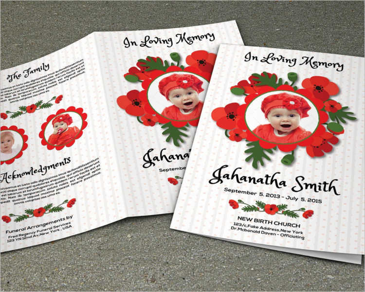 child-funeral-brochure-templates