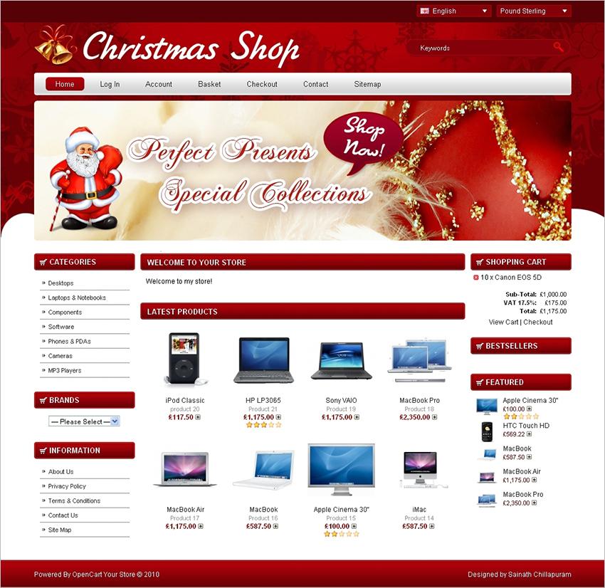 Christmas-Online-Shop-Template