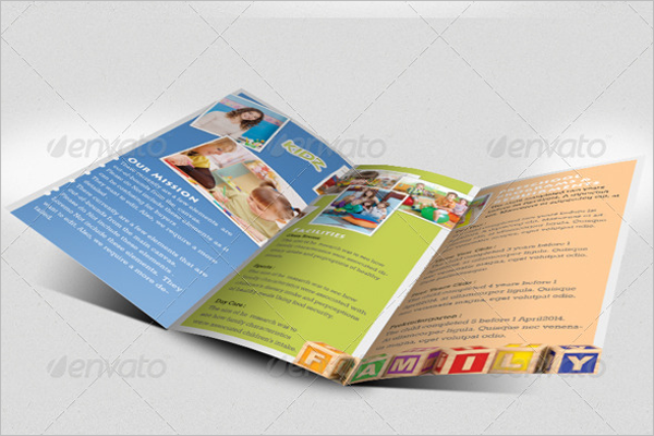 Daycare Brochure Template