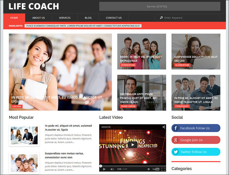 Excellent Personal WordPress Theme