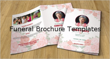 37+ Funeral Program Brochure Templates