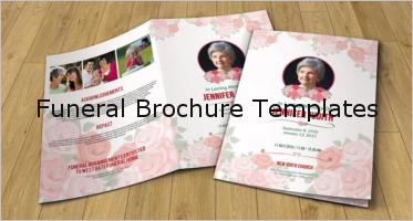 37+ Funeral Program Brochure Templates
