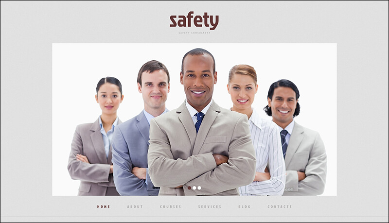 Information Security Responsive WordPress Theme