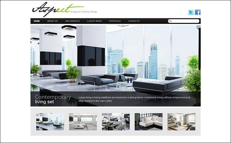 Interior Design Drupal Template