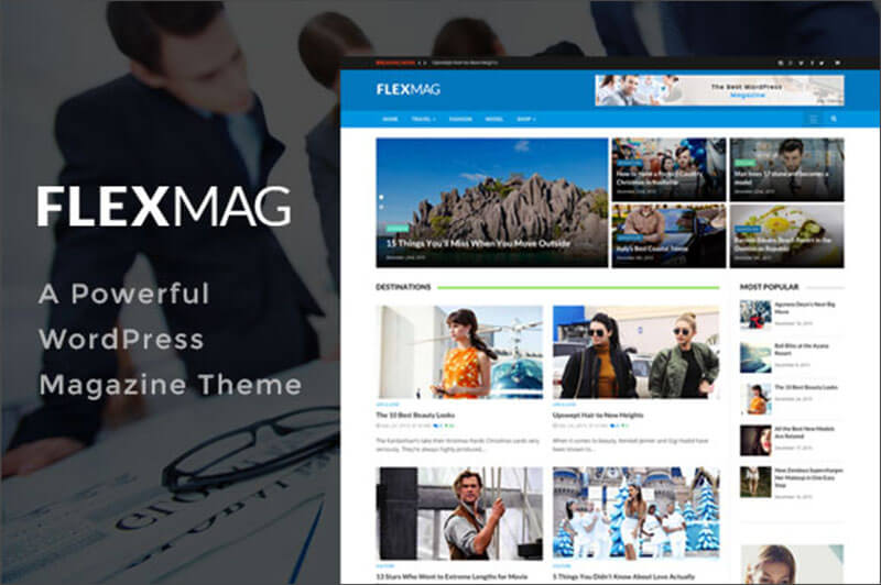 Latest WordPress magazine Theme