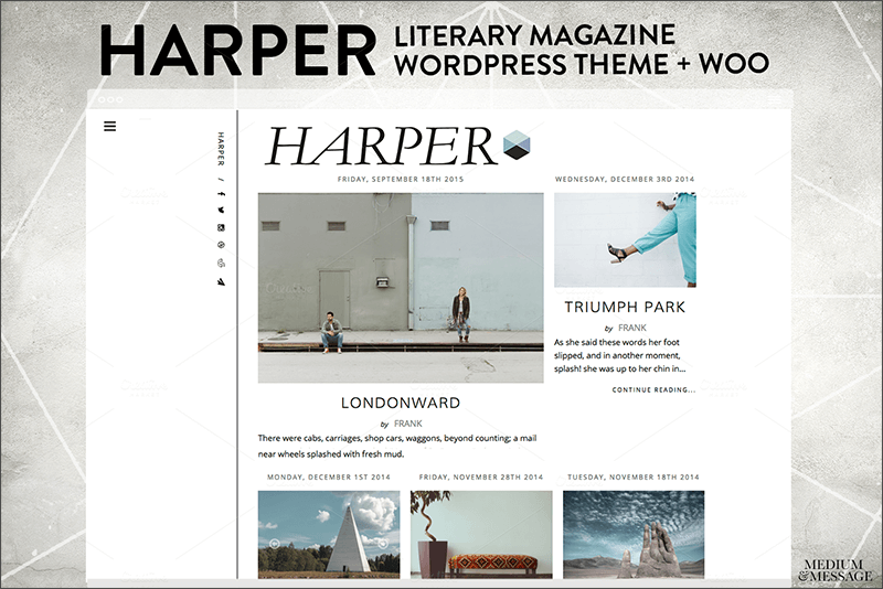 Magazine & Literary WordPress